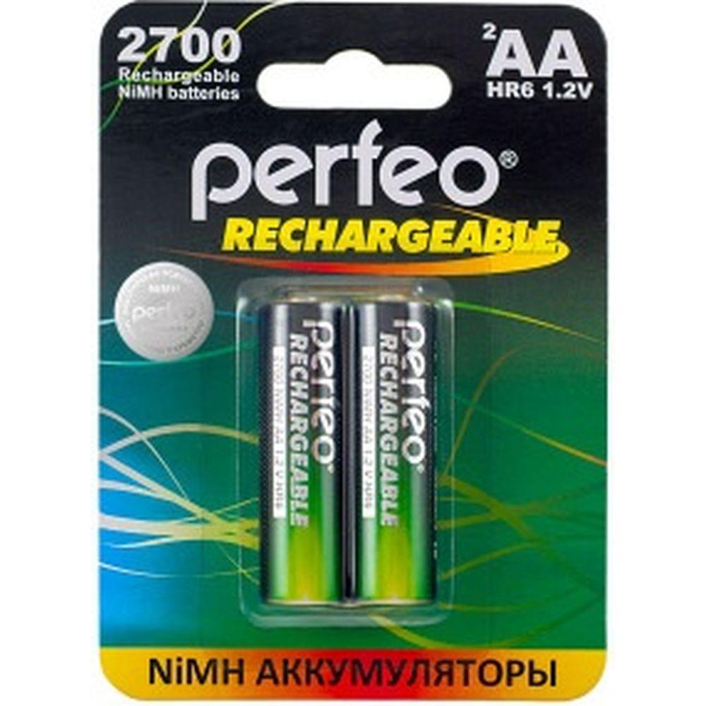 Аккумулятор PERFEO AA2700mAh 2 шт блистер 30006108