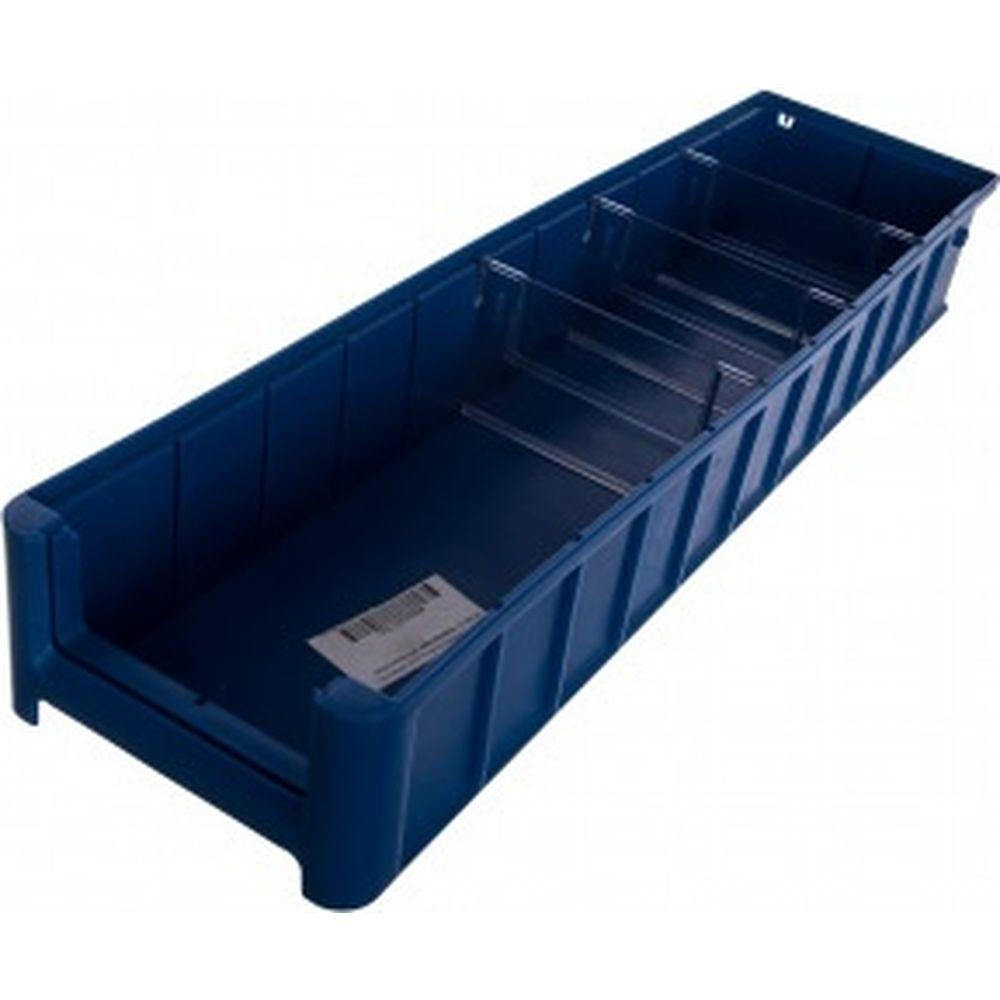 Cтеллажный лоток 600х156х90 мм Пластик Система 12.343.65