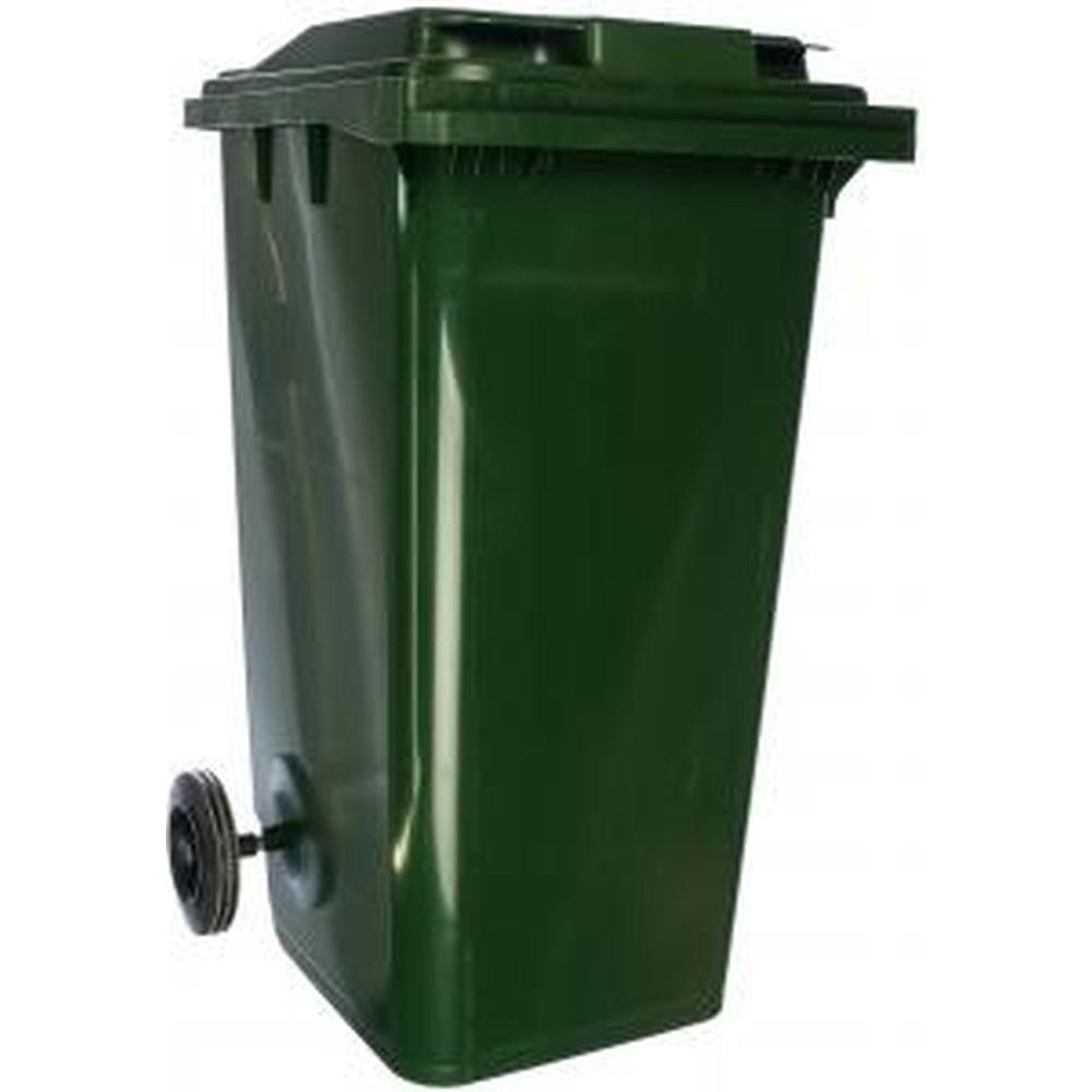 Передвижной мусорный контейнер (240 литров с крышкой) Пластик Система 24.C29