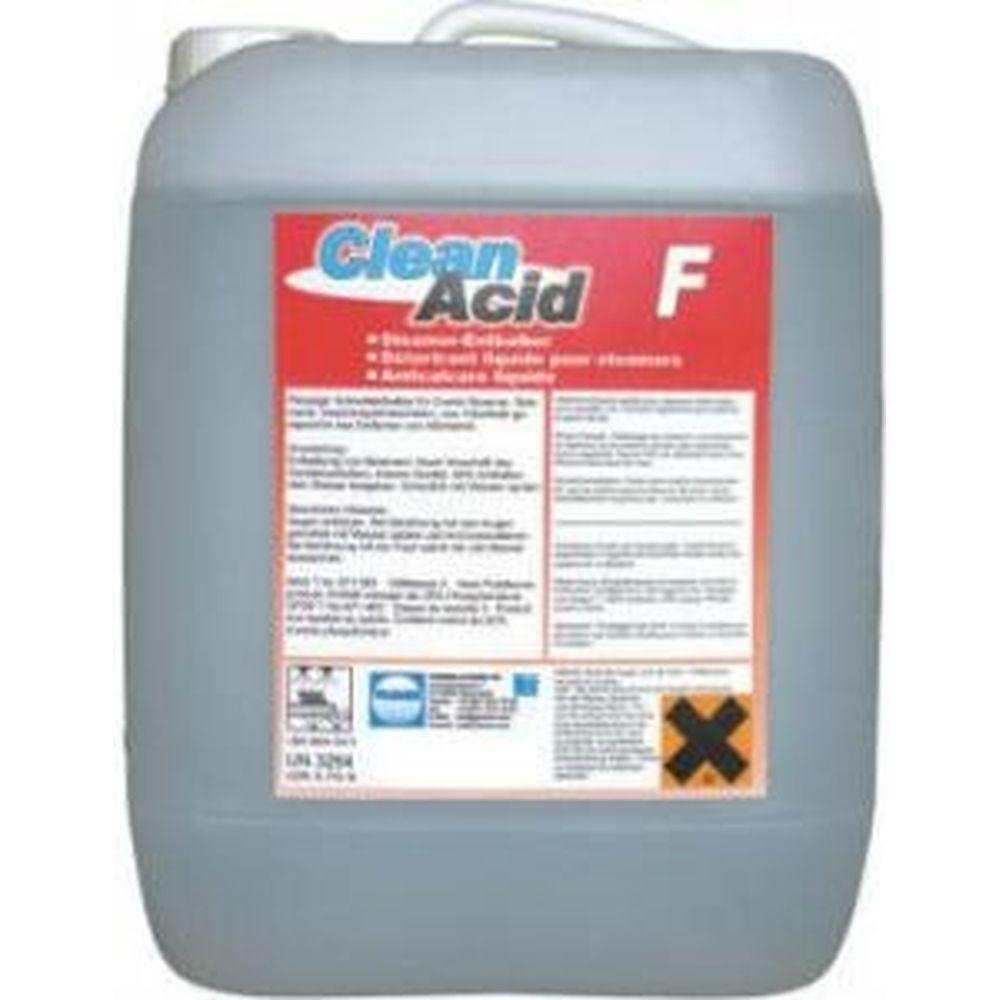 Очиститель CLEANACID F (10 л) для удаления накипи Pramol 5009.101