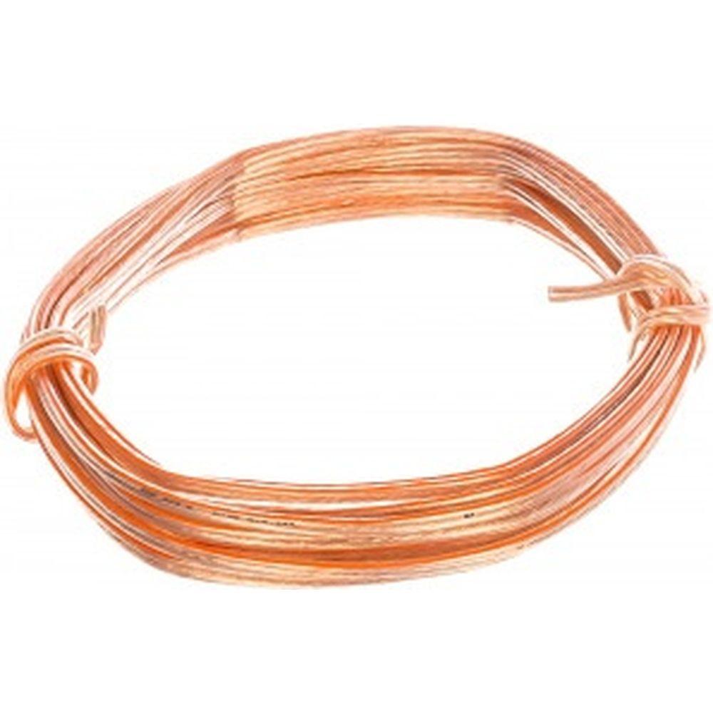 Акустический кабель 2х2,5мм2 прозрачный, медь, Россия, 10м Pro Legend PL300710