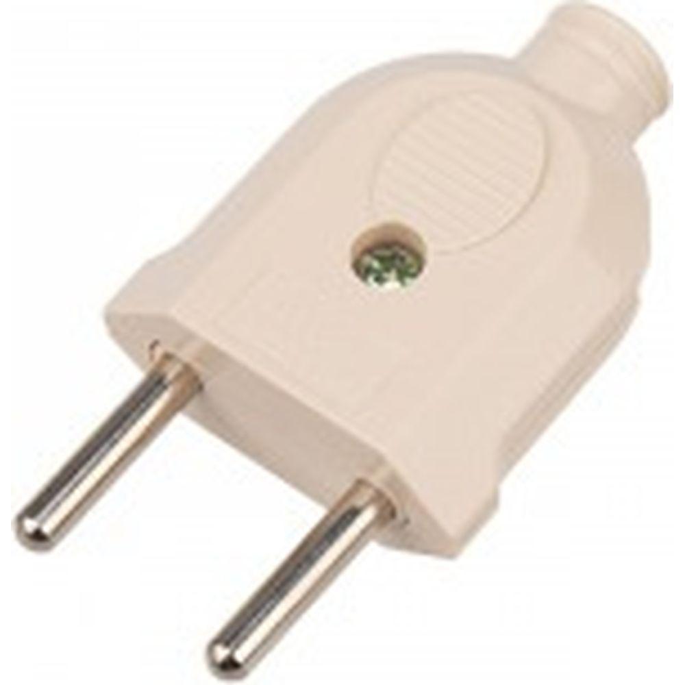 Прямая вилка PROconnect б/з кремовая 10 А 11-8533-4