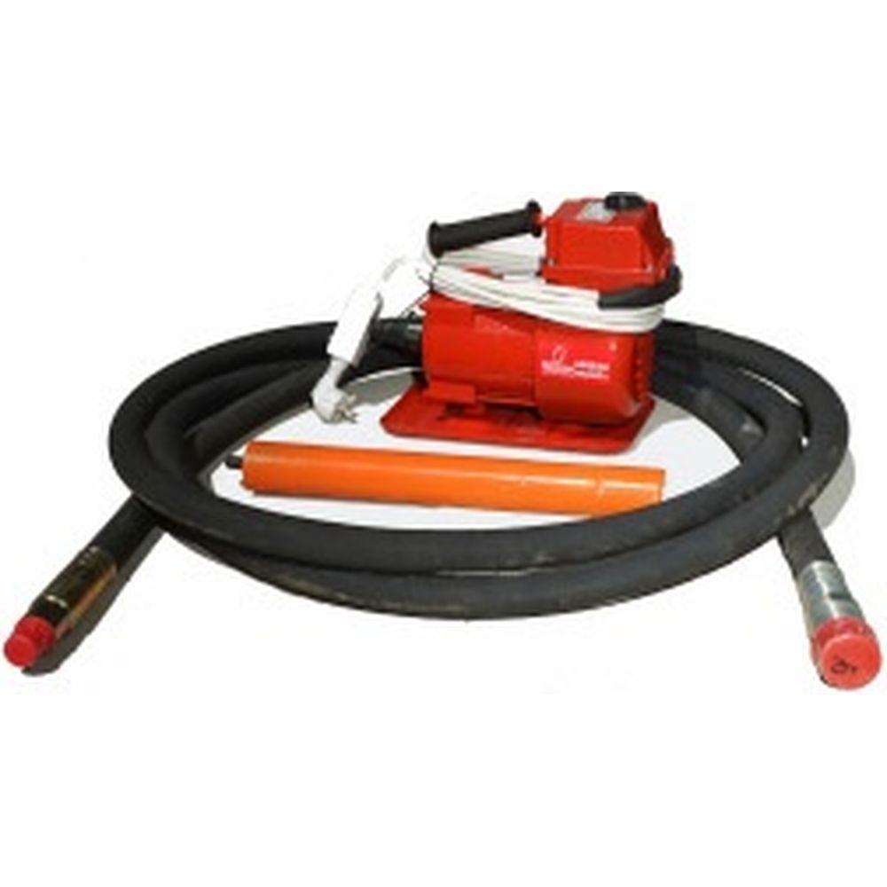 Глубинный вибратор Промышленник ЭП220 ГВ22651 (вал 6 метров, булава 51 мм)