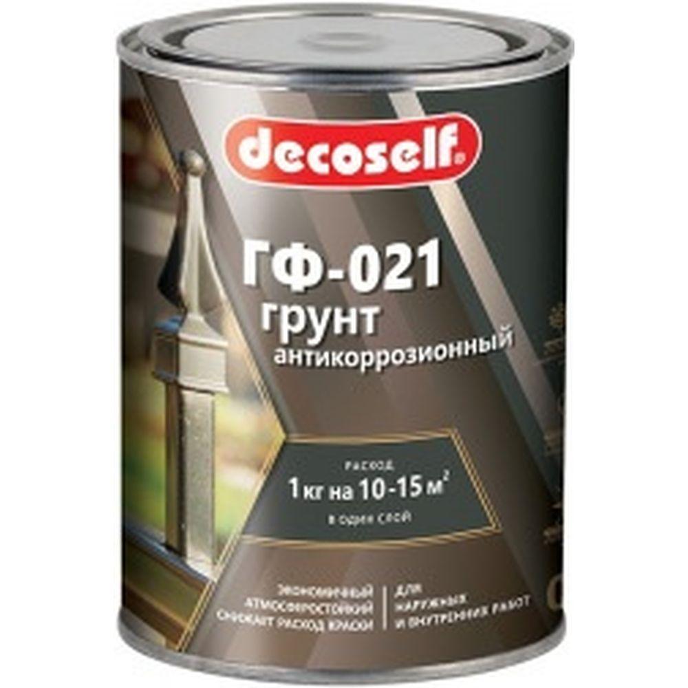 Грунт ПУФАС ГФ-021 серая Decoself 0,9кг тов-200078
