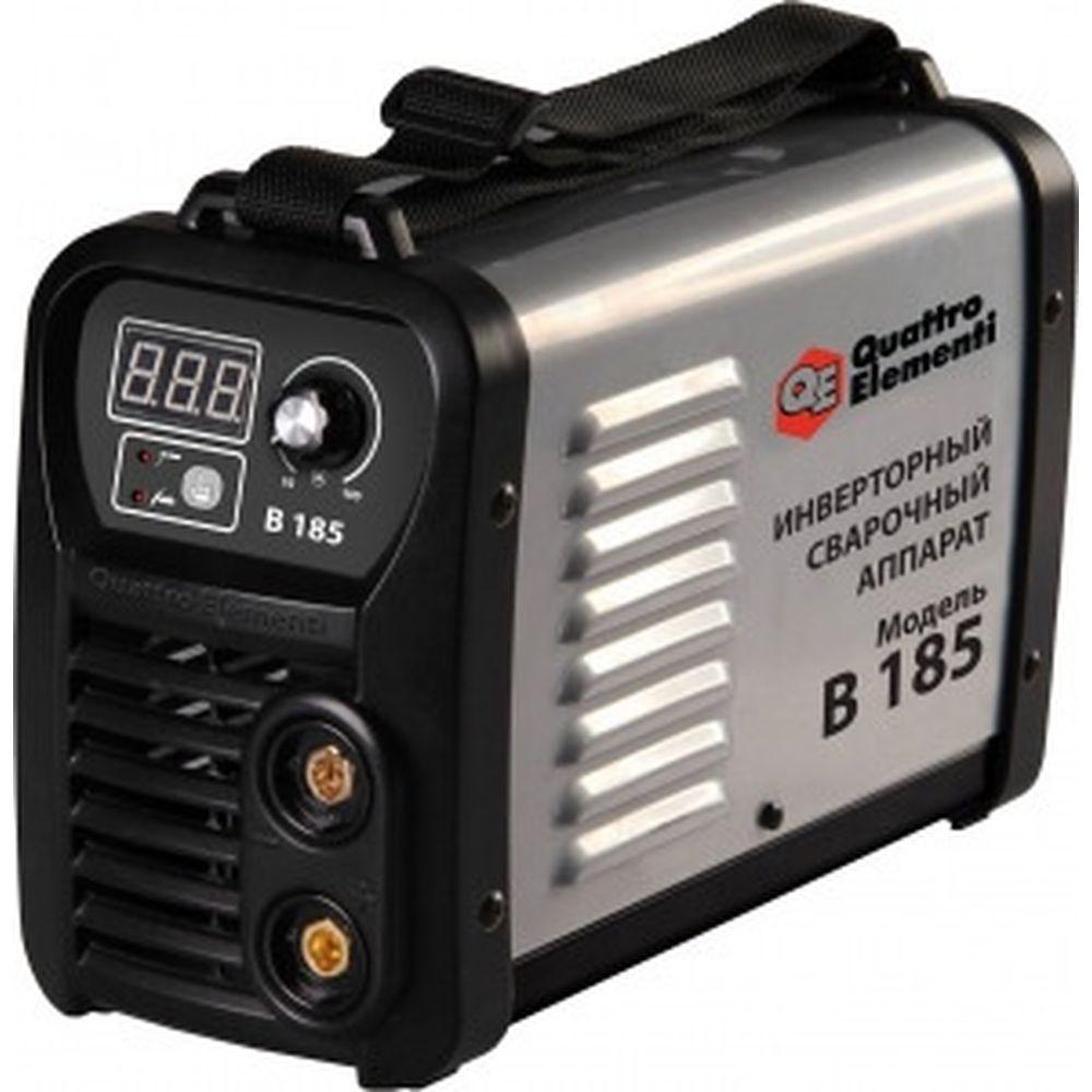 Инверторный аппарат электродной сварки QUATTRO ELEMENTI B 185 772-418