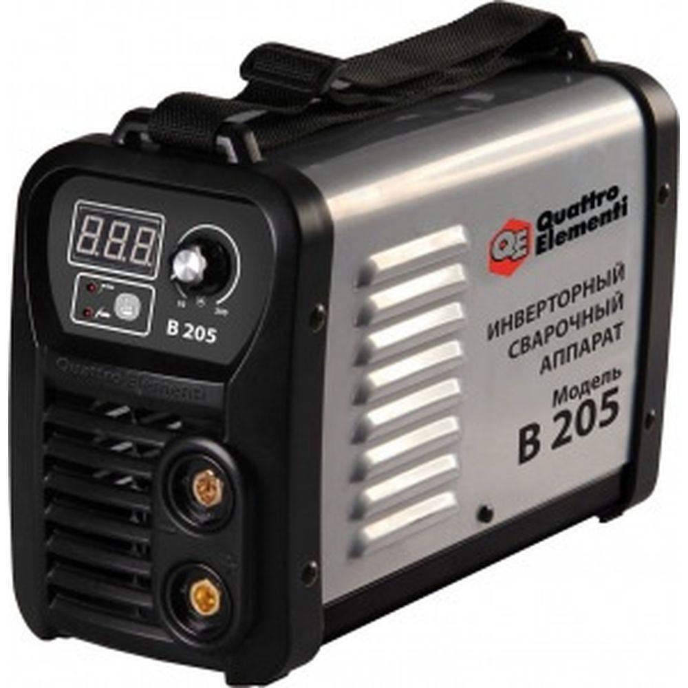 Инверторный аппарат электродной сварки QUATTRO ELEMENTI B 205 772-425