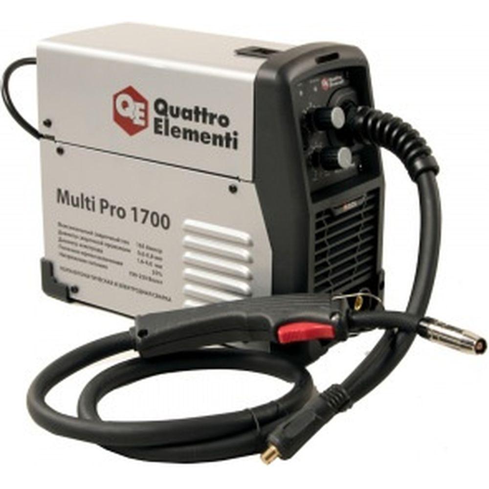 Аппарат полуавтоматической сварки, инвертор Multi Pro 1700 165A QUATTRO ELEMENTI 790-052
