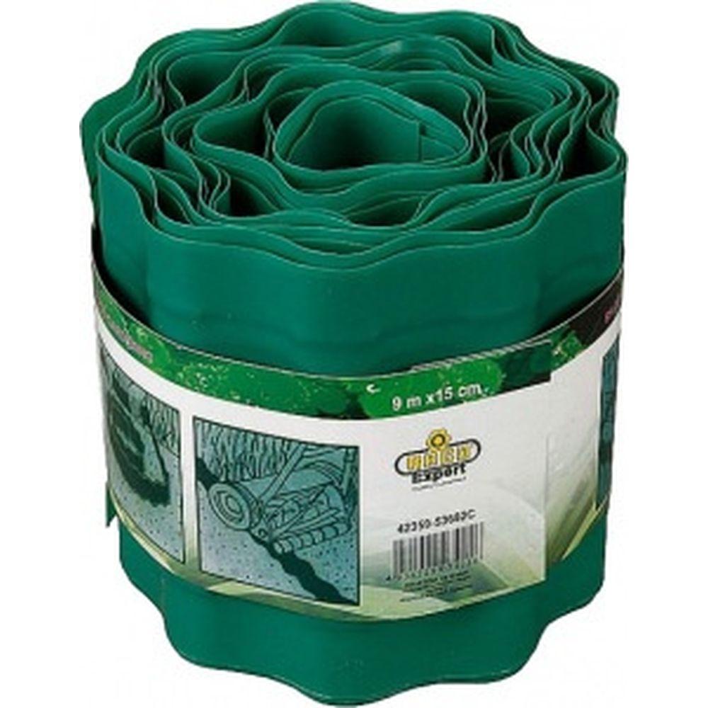 Бордюрная лента Raco 15 см х 9 м зеленый 42359-53682C