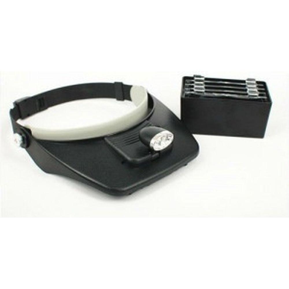 Монтажный бинокуляр REXANT 1.2X, 1.8X, 2.5X, 3.5X с 2хLED подсветкой 12-0402