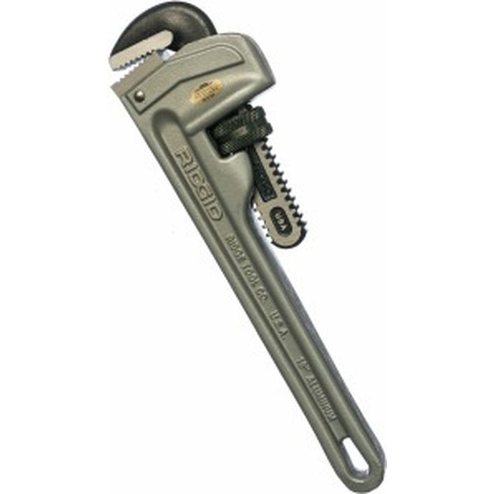 Алюминиевый прямой трубный ключ 10