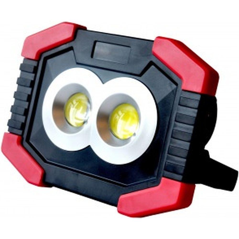 Автономный прожекторный фонарь Ritter 2х3W COB+1W LED, батарейки 3xAA, 300Лм+80Лм, IP23, 29127 5