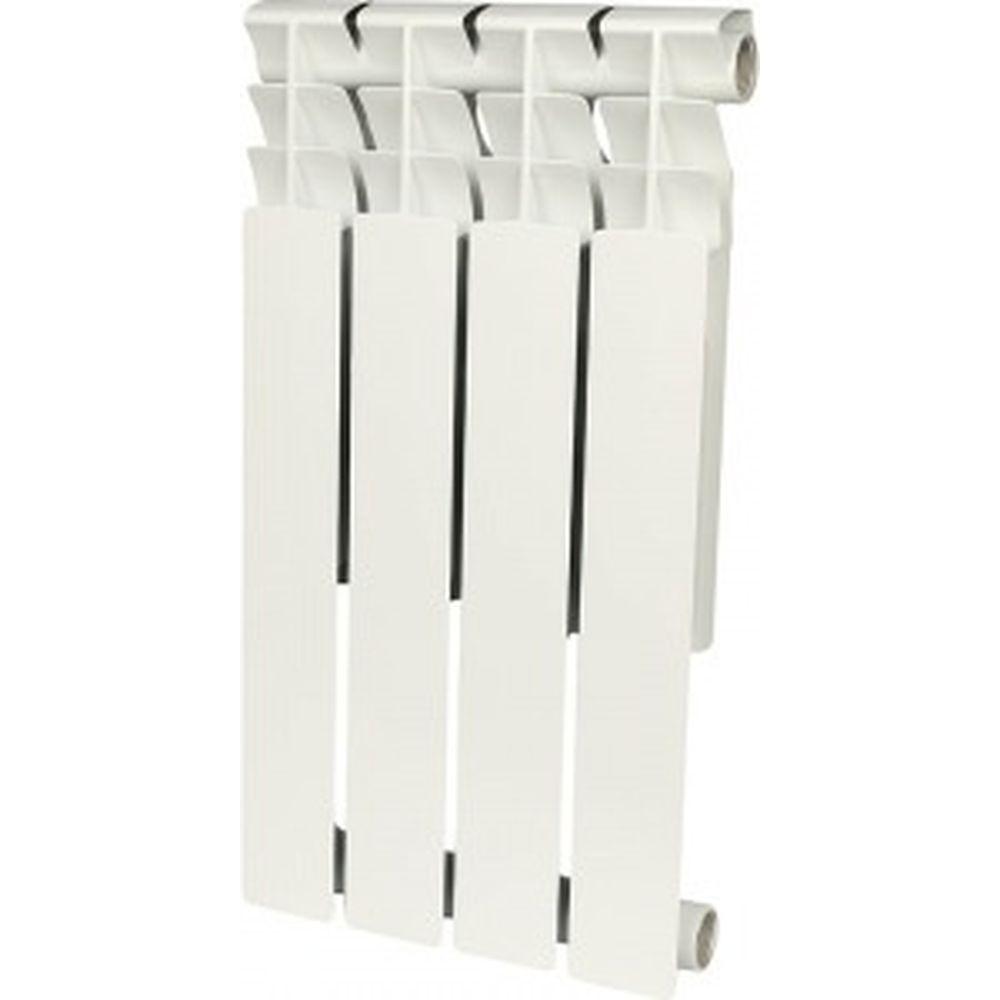 Биметаллический радиатор ROMMER Optima BM 500 4 секции RAL9016 89570