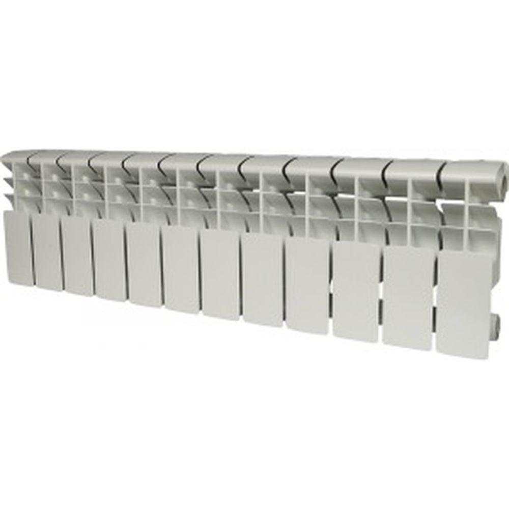 Алюминиевый радиатор ROMMER Plus 200 12 секций RAL9016 89992