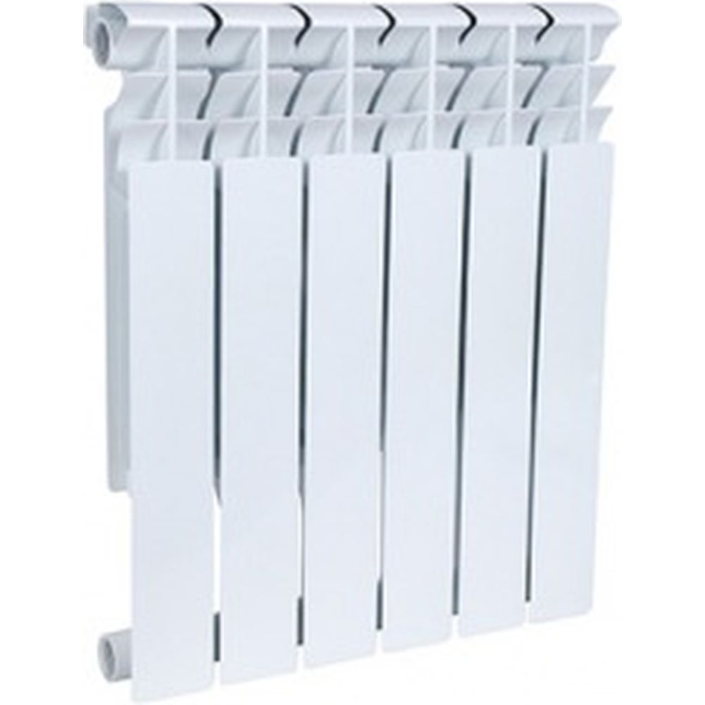 Биметаллический радиатор ROMMER Plus BM 500 6 секций RG008UKJUQRULP