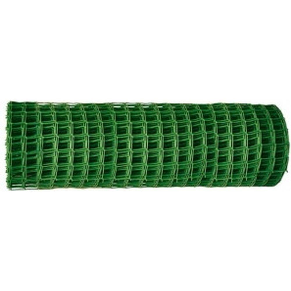 Садовая решётка в рулоне 1x20 м, ячейка 50x50 мм зелёная Россия 64516