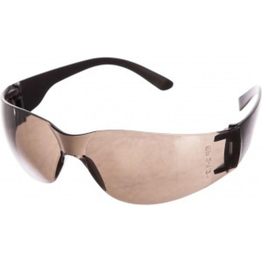 Защитные открытые очки Россия поликарбонатные, затемненные ОЧК203 89173