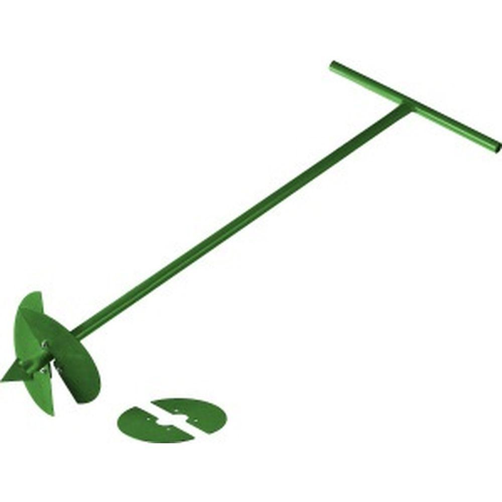 Садовый бур со сменными ножами, 150 мм, 200мм, длина 1000мм РОСТОК 39492
