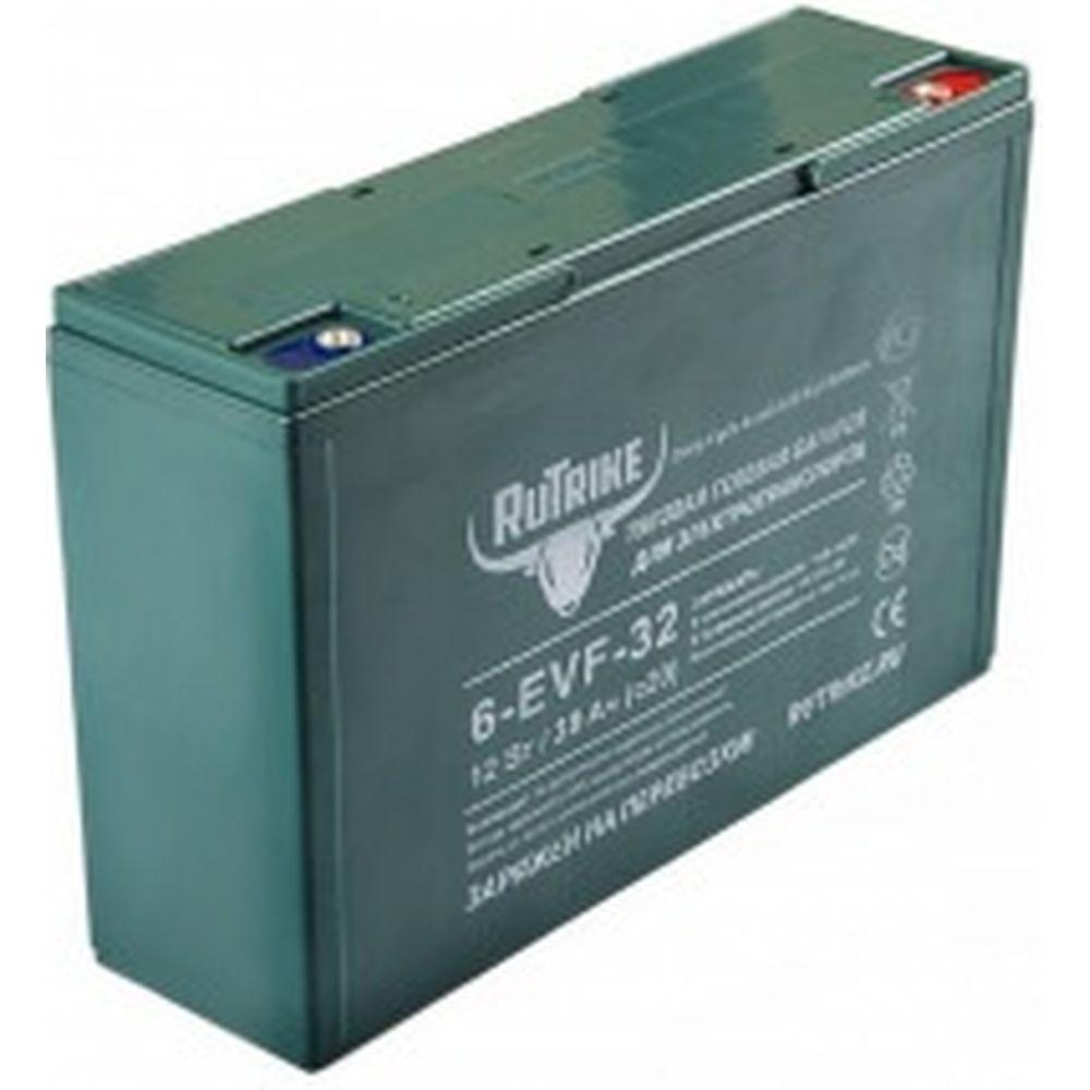 Тяговый гелевый аккумулятор 6-EVF-32 12V32A/H C3 RUTRIKE 021662