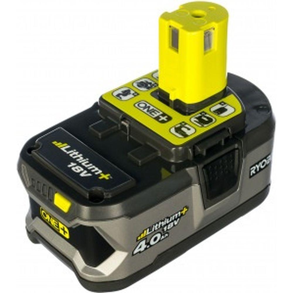 Аккумулятор Ryobi ONE+ RB18L40 (18 В; 4 А*ч; Li-Ion) 5133001907
