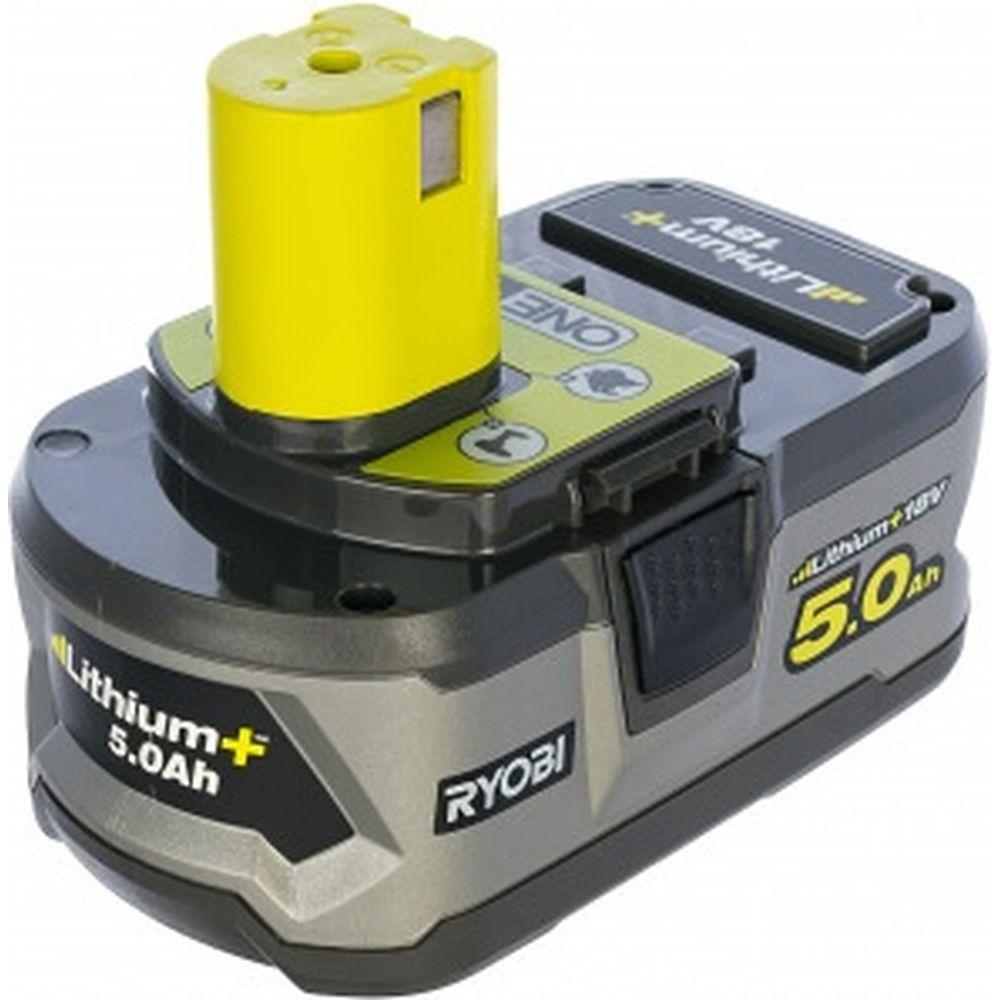 Аккумулятор Ryobi ONE+ RB18L50 5133002433 (18 В; 5 А*ч; Li-Ion)
