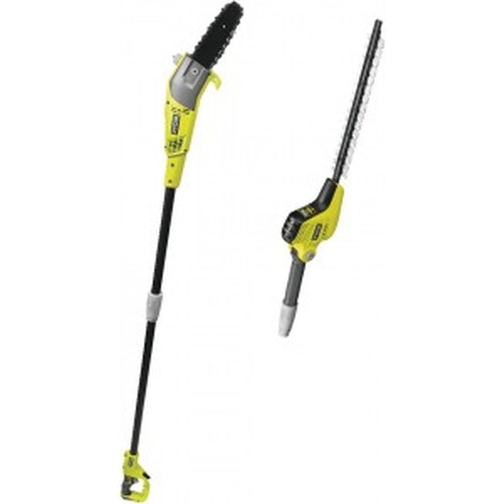 Комплект Ryobi: электрический цепной высоторез и кусторез RP750450 5133002315