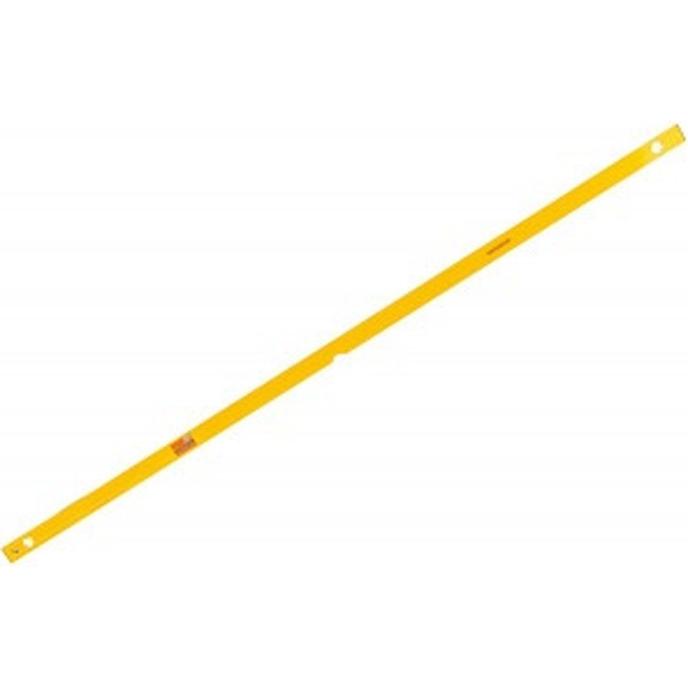 Алюминиевый желтый уровень с линейкой, 3 глазка 2000 мм SANTOOL 050202-200