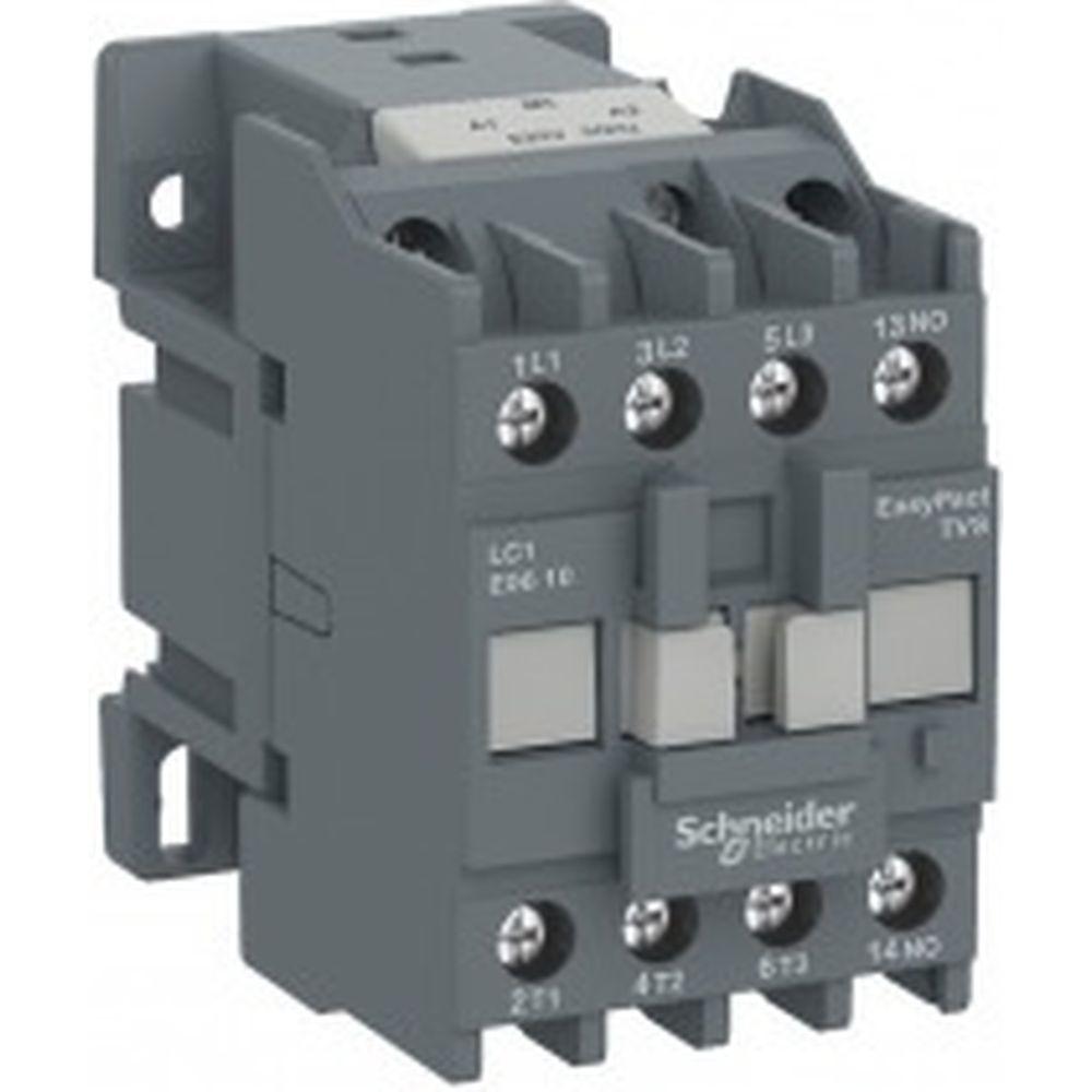 Контактор Schneider Electric 3п 9А 1НО 220V AC TeSys E SchE LC1E0910M5