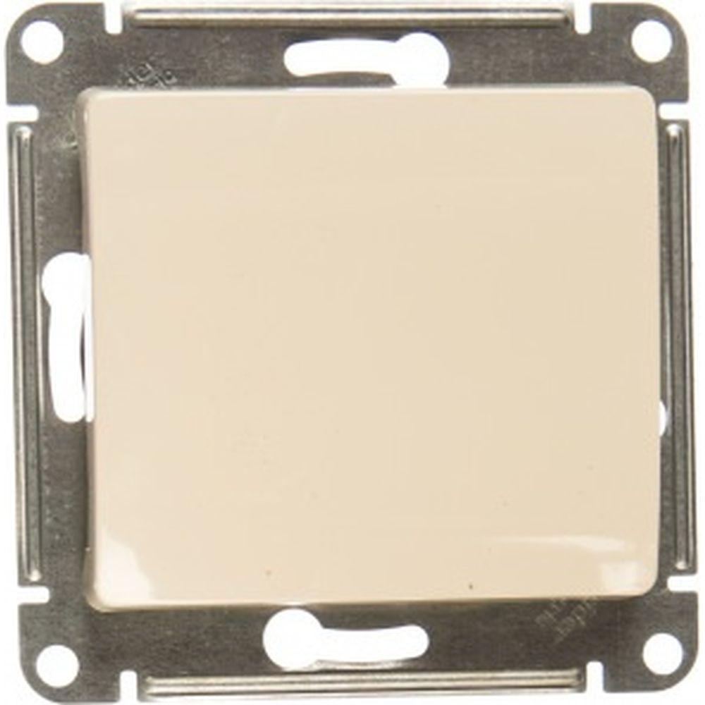 1-клавишный механизм переключателя Schneider Electric СП Glossa сх. 6 10AX бежевый GSL000261