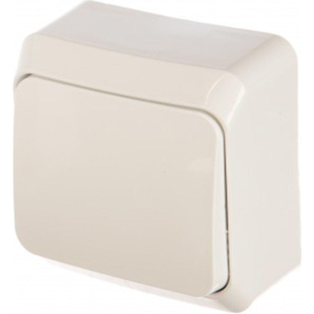 1-клавишный переключатель Schneider Electric ОП Этюд 10А белый BA10-004B