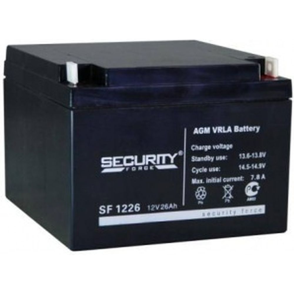 Батарея аккумуляторная Security Force SF 1226