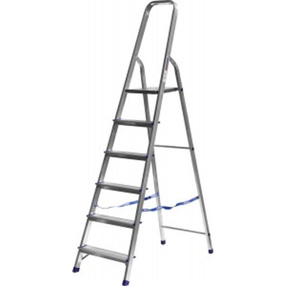 Алюминиевая лестница-стремянка СИБИН 6 ступеней 38801-6