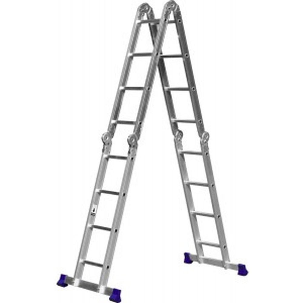 Алюминиевая лестница-трансформер СИБИН 4x4 38852