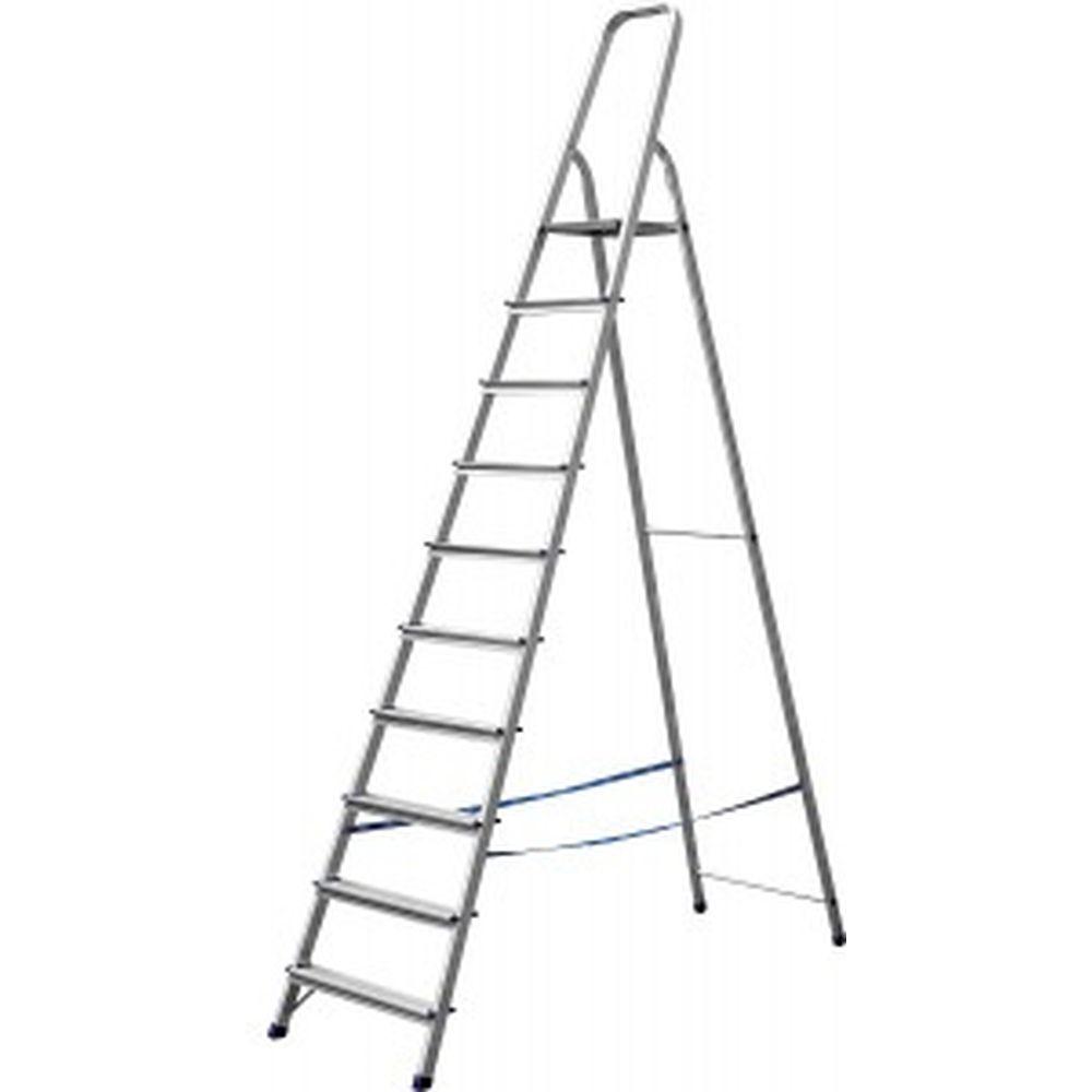 Алюминиевая лестница-стремянка СИБИН 10 ступеней 38801-10