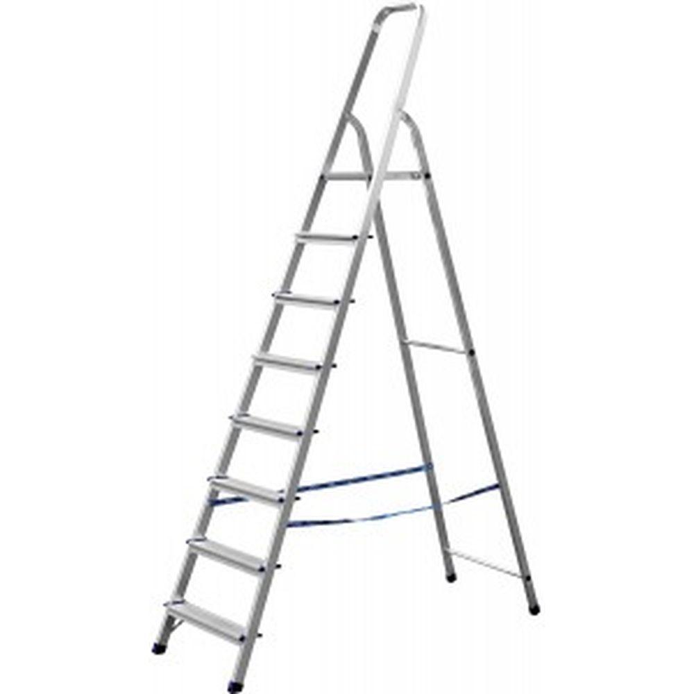 Алюминиевая лестница-стремянка СИБИН 8 ступеней 38801-8
