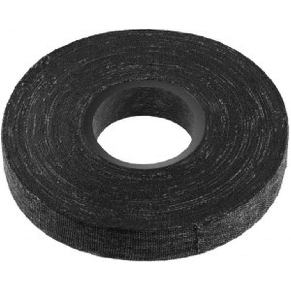 Х/Б изолента СИБИН 15 м, ширина 18 мм, 1000 В черная 1230-15