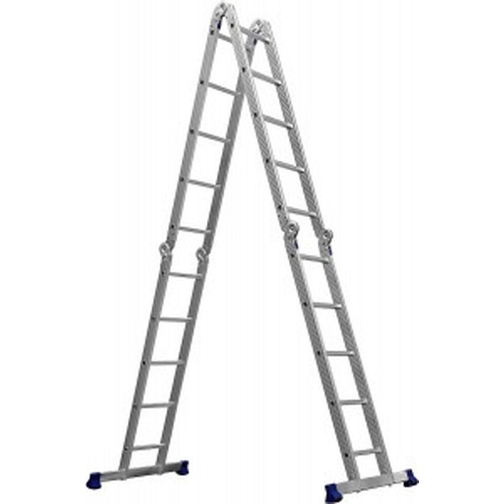 Алюминиевая лестница-трансформер СИБИН ЛТ-45 4x5 ступеней 38853