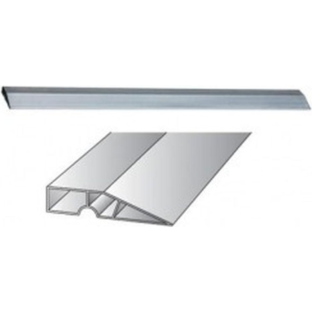 Алюминиевое трапециевидное правило с двумя ребрами жесткости 1 м СИБРТЕХ 89601