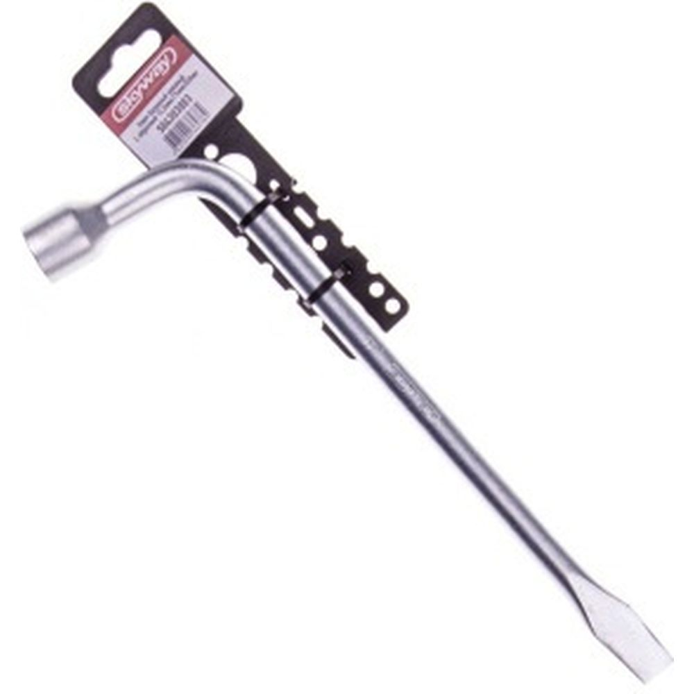 Баллонный L-образный ключ, кованый с лопаткой SKYWAY S04303003