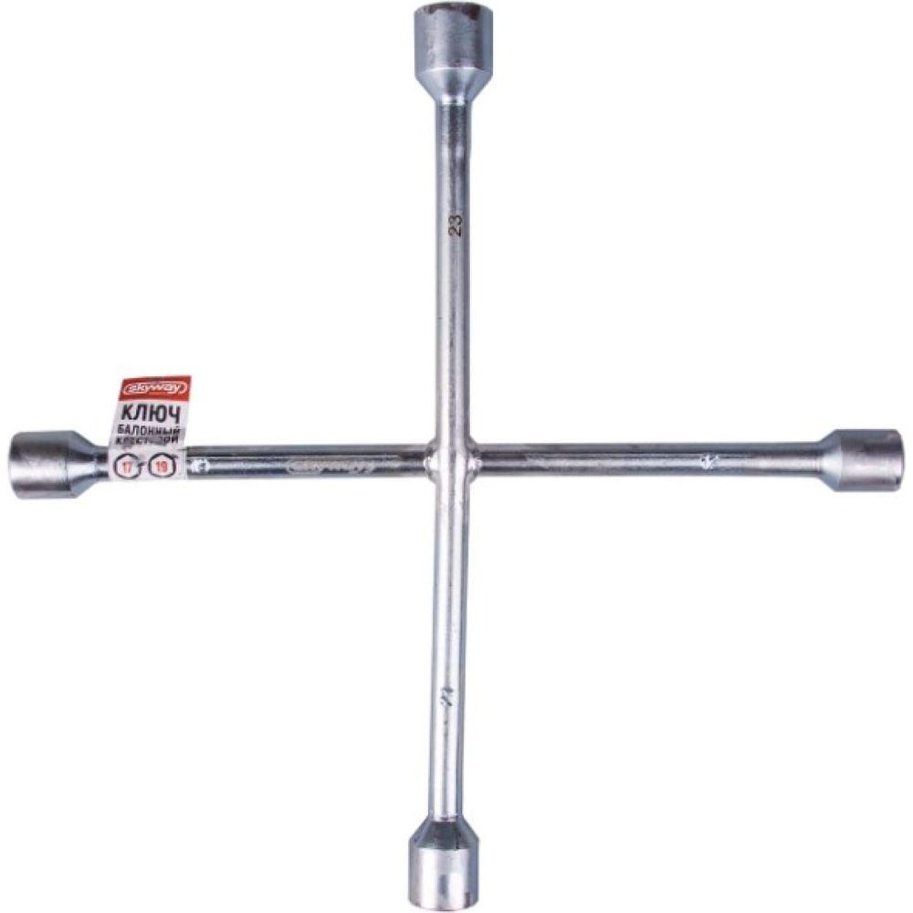 Баллонный крестовой ключ 360мм SKYWAY S04303009