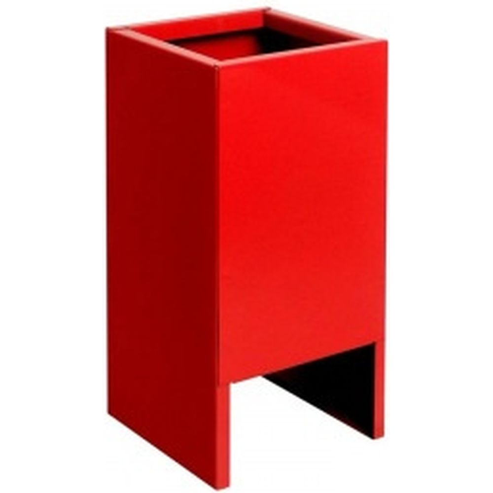 Напольная подставка, красная 230х230х400мм для ОП-8,9,10; ОУ-3,5,7,8,9; ОВП-8 до 10кг СПЕЦ П-20 ОГН-П20К