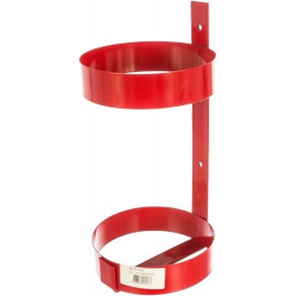 Кронштейн для огнетушителя ОП-4/ОУ-3, диаметр 160мм, красный, без зажима СПЕЦ ОГН-КРОН05