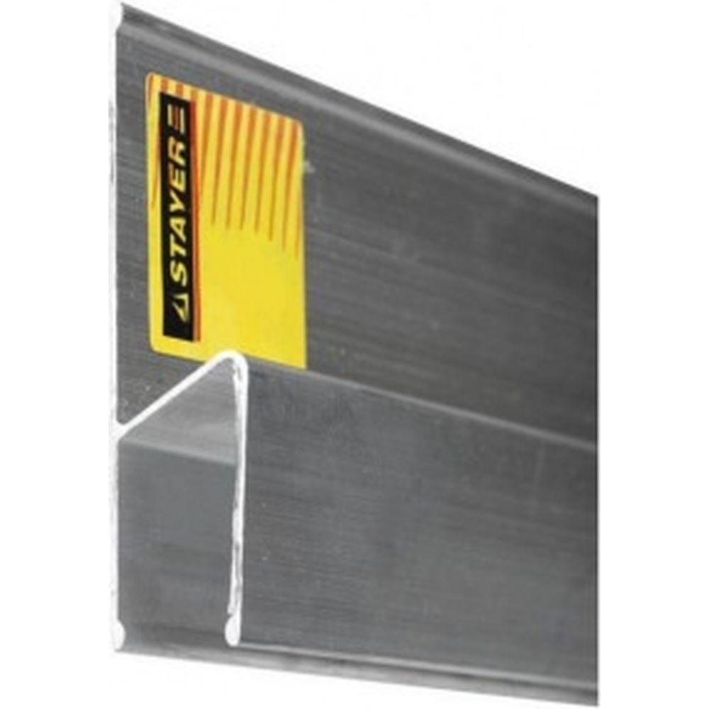 Алюминиевое правило h-образный профиль 2,5 м STAYER PROFI 10745-2.5