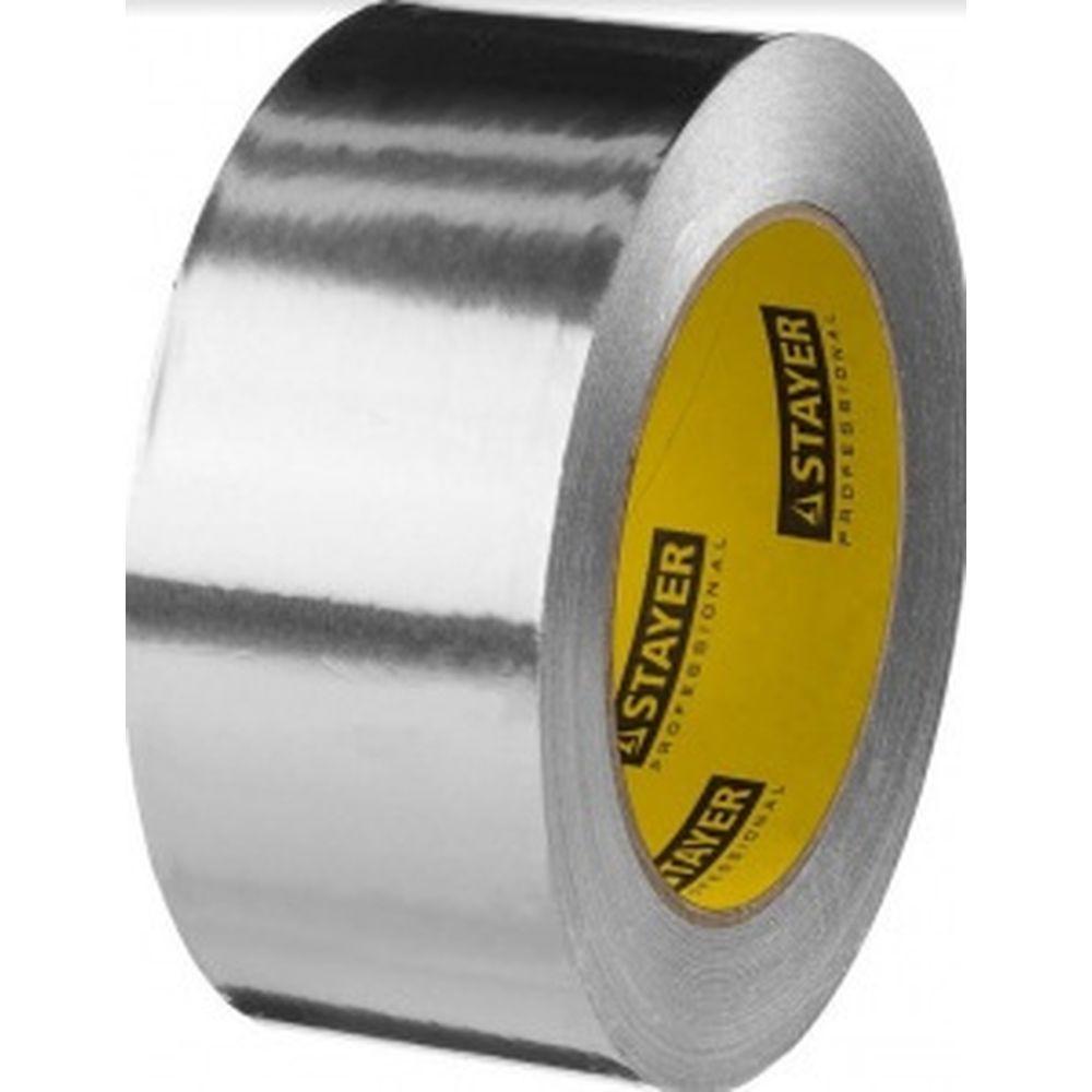 Алюминиевая лента STAYER Professional, до 120С, 50мкм, 75мм х 50м 12268-75-50