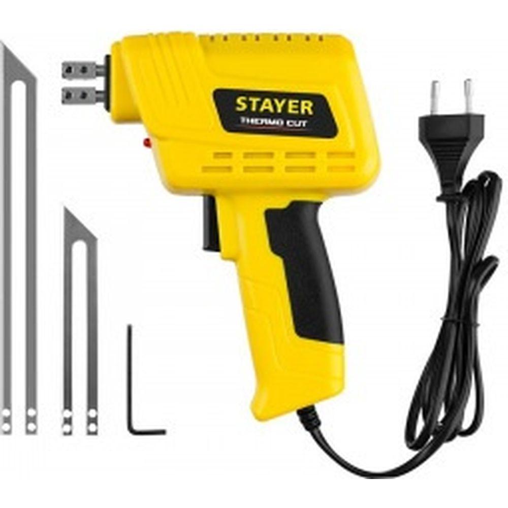 Набор для терморезки пенопласта и пластика STAYER Thermo cut 150 Вт, 2 ножа 45255-H2