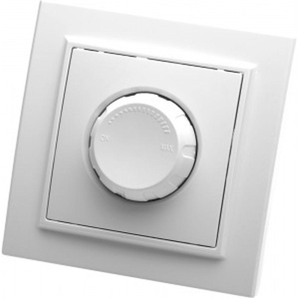 Выключатель STEKKER диммируемый, 220V, 600W, серия Эрна, белый, PSW10-9006-01 39046