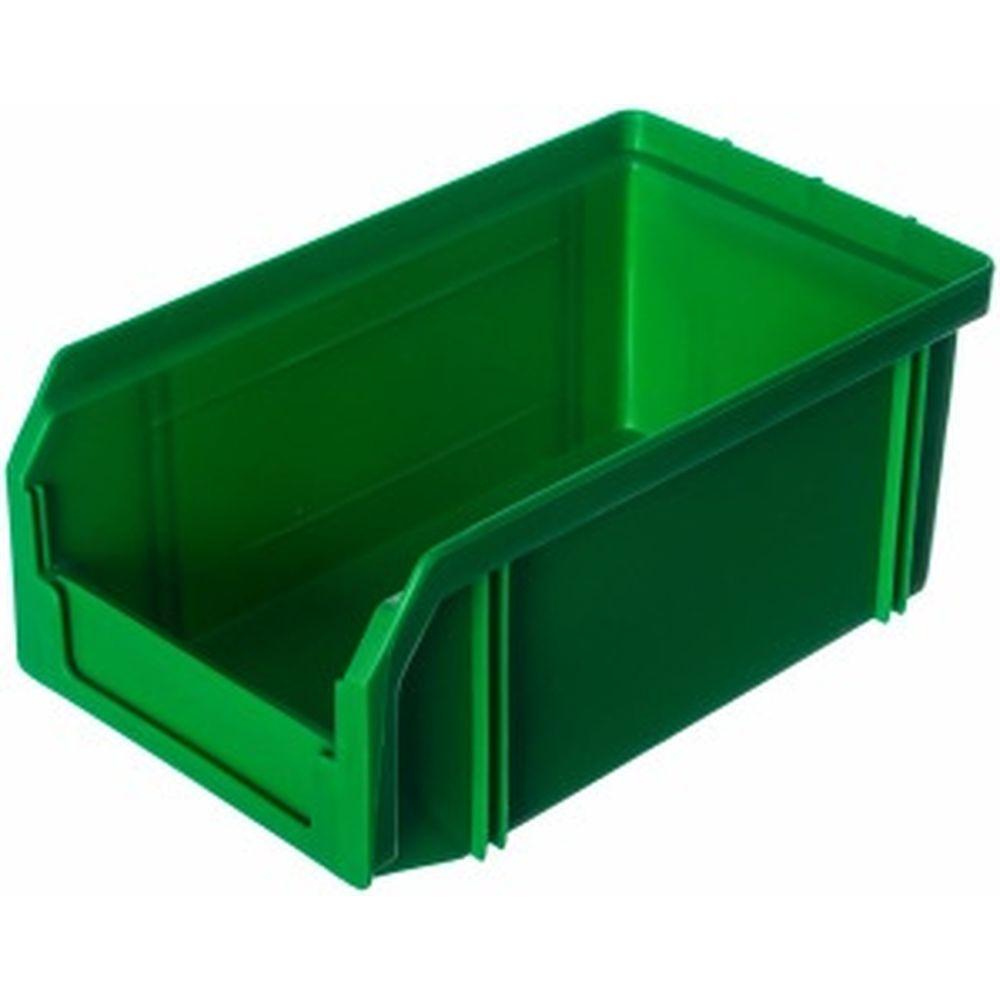 Пластиковый зеленый ящик 171х102х75мм Стелла V-1