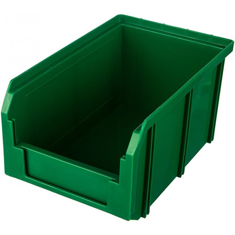 Пластиковый зеленый ящик 234х149х121мм Стелла V-2
