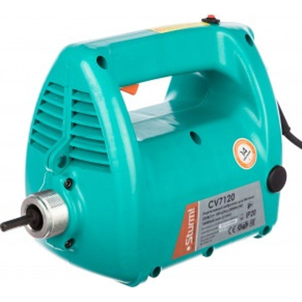 Портативный вибратор для бетона Sturm CV7120