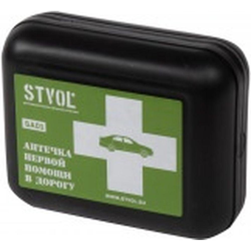Аптечка первой помощи в дорогу STVOL, пластиковый футляр SA01