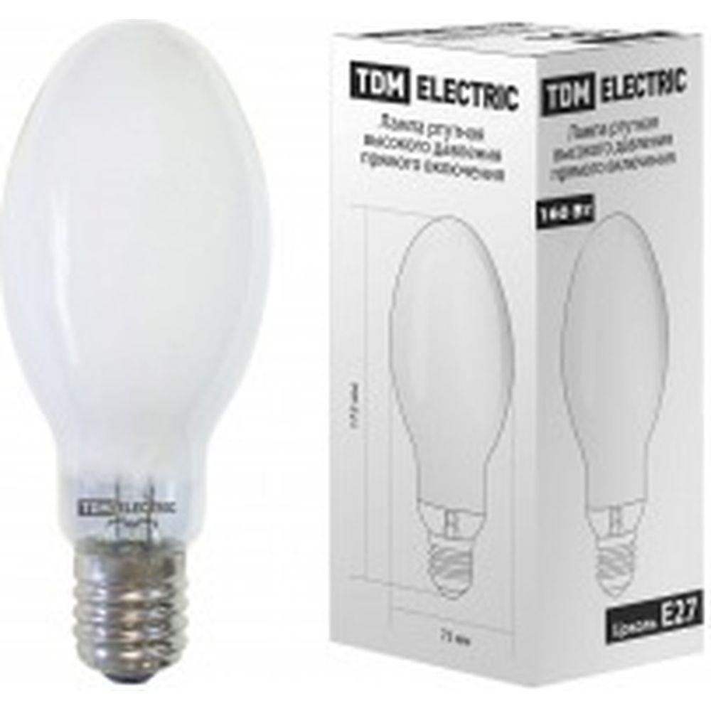 Ртутная лампа высокого давления TDM ДРВ 160 Вт Е27 SQ0325-0019